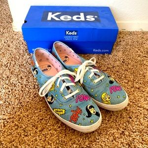 Keds Betty and Veronica denim sneakers